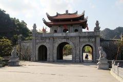 Antyczny miasto Hoa Lu, Wietnam Zdjęcie Stock