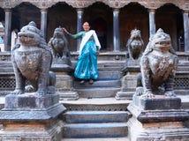 Antyczny miasto Patan - Nepal obrazy stock