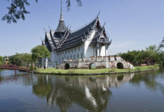 Antyczny miasto przy Samutprakan Zdjęcia Royalty Free