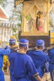 Antyczny militarny konwój Tajlandia fotografia stock