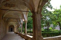 Antyczny monaster, Lokrum Chorwacja fotografia royalty free