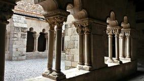 Antyczny monaster w centrum Barcelona Zdjęcie Stock