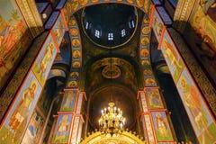 Antyczny mozaiki kopuły bazyliki święty Michael Katedralny Kijowski Ukraina Zdjęcia Stock