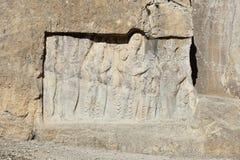 Antyczny Naqsh-e Rustam necropolis w normach, Iran obraz stock