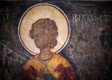 Antyczny obraz w kościół Obraz Stock