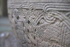 Antyczny ornament na kamieniu Zdjęcie Royalty Free