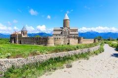 Antyczny ortodoksyjny monasteru kompleks Alaverdi Zdjęcia Royalty Free