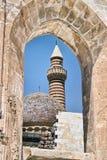 antyczny pałac sułtanu indyka okno Zdjęcia Stock