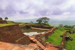 Antyczny pałac SIGIRIYA w Sri Lanka fotografia royalty free