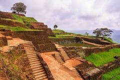 Antyczny pałac SIGIRIYA w Sri Lanka Zdjęcia Royalty Free