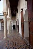 Antyczny pałac w Tangier Zdjęcia Royalty Free