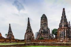 antyczny pagodowy Thailand obrazy stock