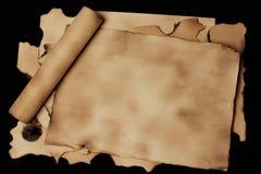 antyczny papier fotografia stock