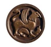 antyczny projektów medalionu slavic Zdjęcie Royalty Free