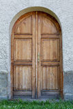 Antyczny projektujący drzwi w Sistani, Zdjęcia Stock