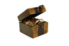 antyczny pudełko Obrazy Stock