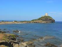 antyczny pula Sardinia miasteczko Obrazy Royalty Free