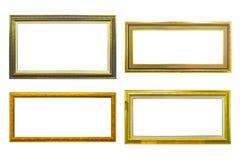 antyczny ramowy złoty wizerunku fotografii styl Zdjęcie Royalty Free