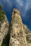 Antyczny Romański fort Carsium, Rumunia zdjęcie royalty free