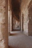 Antyczny Romański korytarz Zdjęcia Royalty Free