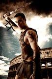 Antyczny Rzym wojownika żołnierz Zdjęcia Royalty Free