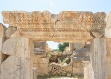 Antyczny rzymianina teatr w Lycian mieście Obraz Royalty Free
