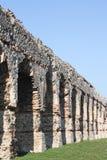 Antyczny rzymski akwedukt Gra w Chaponost blisko Lion zdjęcia royalty free