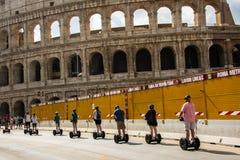 Antyczny rzymski Colosseum szczegół w Rzym, Włochy zdjęcie stock
