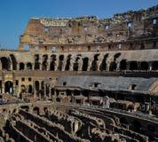 Antyczny rzymski Colosseum szczegół w Rzym, Włochy obrazy stock