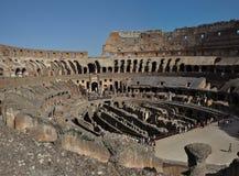Antyczny rzymski Colosseum szczegół w Rzym, Włochy obraz royalty free