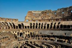 Antyczny rzymski Colosseum szczegół w Rzym, Włochy fotografia stock