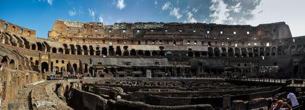 Antyczny rzymski Colosseum szczegół w Rzym, Włochy zdjęcia royalty free