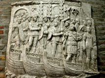 Antyczny rzymski kamienny cyzelowanie Obrazy Royalty Free