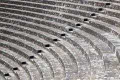 Antyczny rzymski teatr Fourviere w Lion zdjęcie royalty free