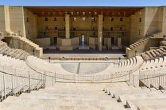 Antyczny rzymski teatr w Sagunto, Hiszpania obrazy royalty free