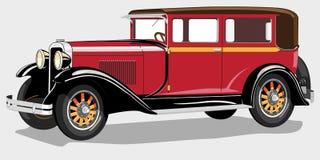 antyczny samochód royalty ilustracja