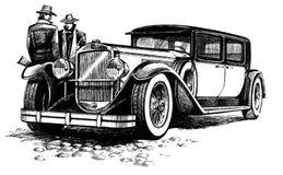 antyczny samochodowy elegancki Zdjęcie Royalty Free
