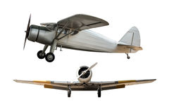 Antyczny samolot fotografia stock