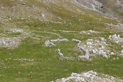 Antyczny sheepfold obraz stock