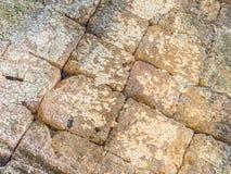 Antyczny siatki skały wzór i tekstura Obrazy Stock