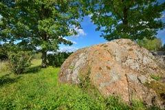 Antyczny sprawy duchowe kamień Bałtyccy plemiona Obraz Royalty Free