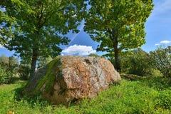 Antyczny sprawy duchowe kamień Bałtyccy plemiona Zdjęcie Royalty Free