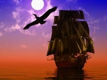 antyczny statek Zdjęcie Stock