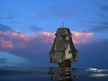 antyczny statek ilustracji