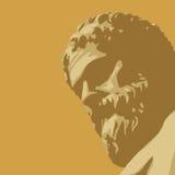 antyczny statua wektor royalty ilustracja
