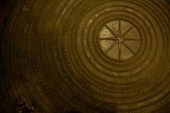 Antyczny Tajlandzki gong Zdjęcia Stock