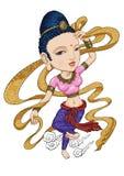antyczny tancerz Fotografia Royalty Free