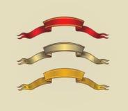 antyczny tasiemkowy ślimacznica wektor Obrazy Stock