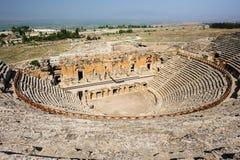 Antyczny teatr w Hierapolis Fotografia Royalty Free