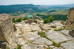 Antyczny Thracian miasto Perperikon Zdjęcie Stock